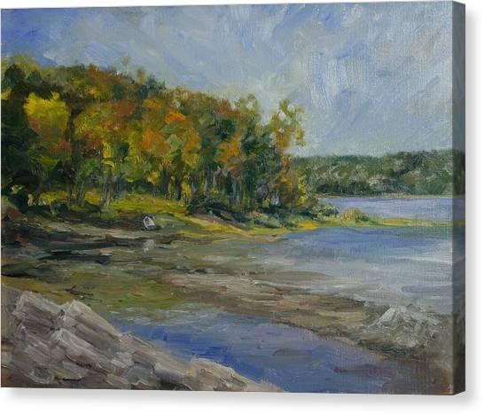 Shenipsit Light September Canvas Print