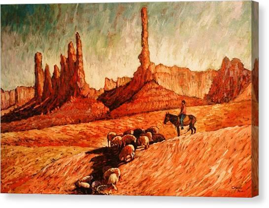 Sheppard Canvas Print