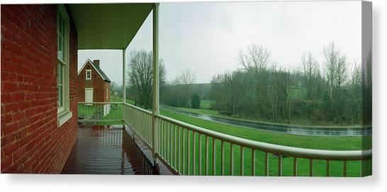 Sherrick House Canvas Print by Jan W Faul