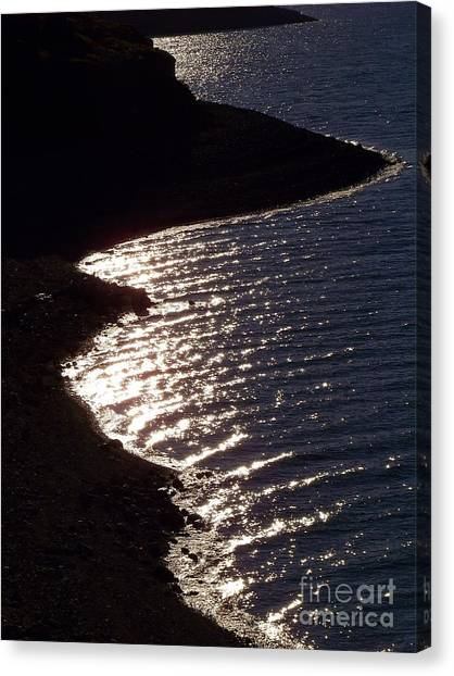 Shining Shoreline Canvas Print