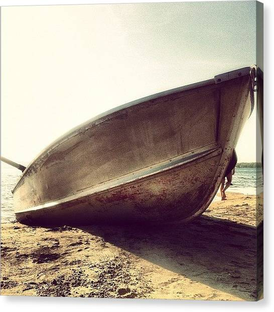 Music Canvas Print - Shipwrecked by Goran Junior
