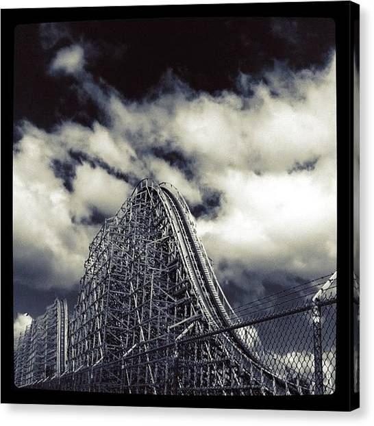 Michigan Canvas Print - Shivering Timbers by Cassie OToole