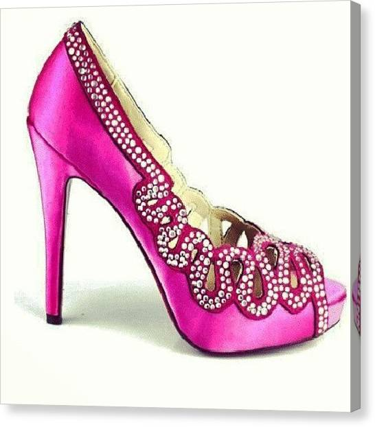Knights Canvas Print - #shoes Pretty by Autumn Knight