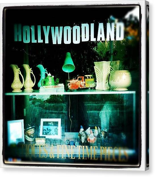 Hollywood Canvas Print - Shop by Torgeir Ensrud
