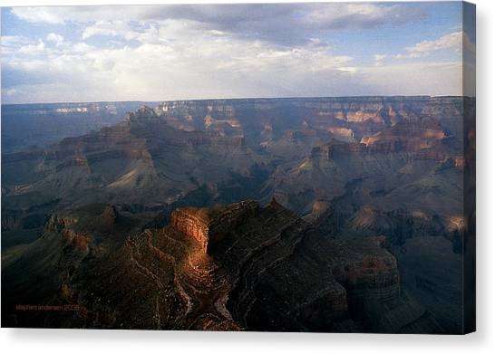 Shoshone Point Grand Canyon Arizona Canvas Print