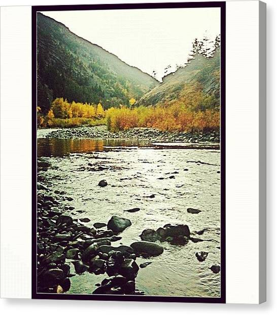 Wyoming Canvas Print - #shoshonenationalforest #absoroka by Kyle Wright