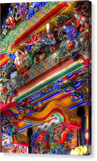 Shrine-3 Canvas Print