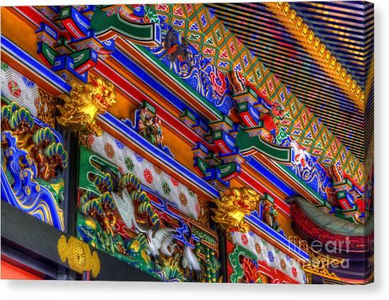Shrine-5 Canvas Print