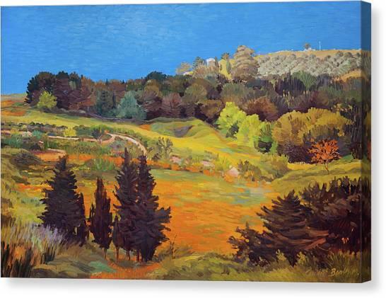 Sicily Landscape Canvas Print