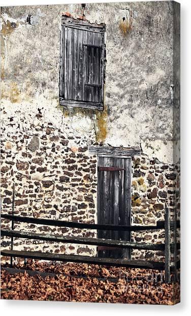Side Entrance Canvas Print by John Rizzuto