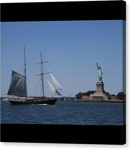 Kings Canvas Print - #sidebyside #ladyliberty by Cai King-Young