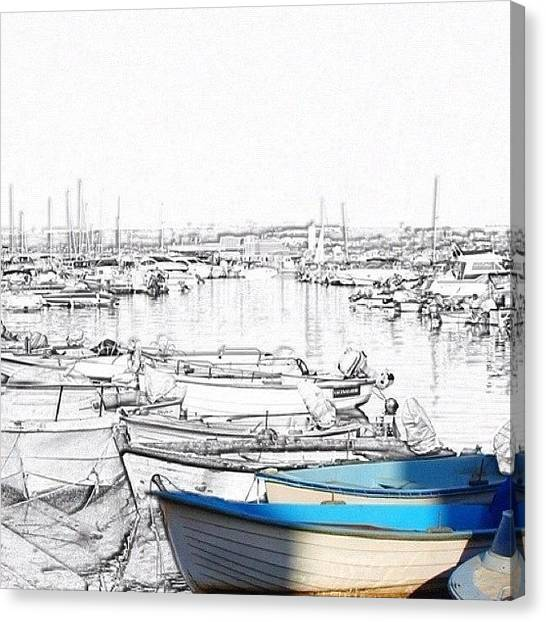 Marinas Canvas Print - #sidifredj #algeria #alger by Nicola ام ابراهيم