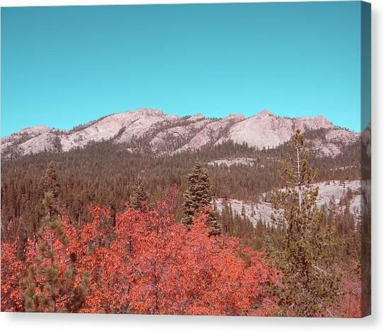 Sierra Canvas Print - Sierra Nevada Mountain by Naxart Studio