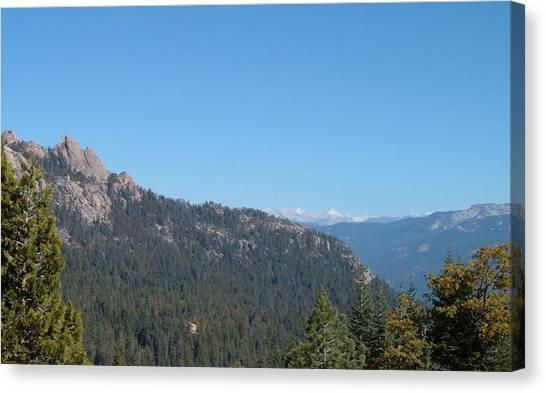 Sierra Canvas Print - Sierra Nevada Mountains 3 by Naxart Studio