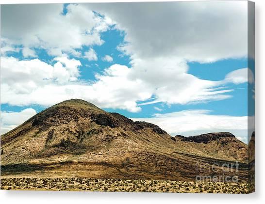 Sierra Nevadas Canvas Print by HD Connelly