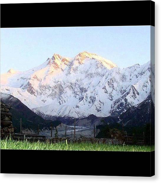 Fairies Canvas Print - Sights Of Pakistan fairy Meadows And by Muhammad Tahir