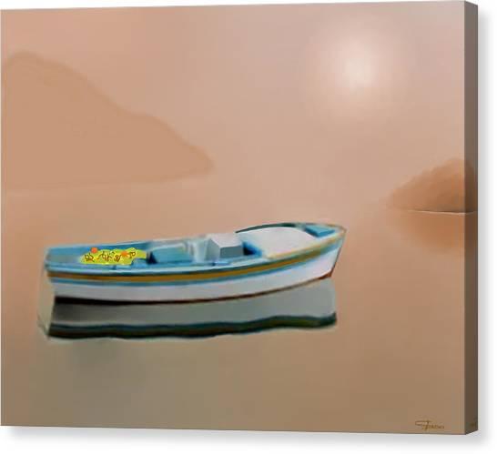 Silent Sea Canvas Print