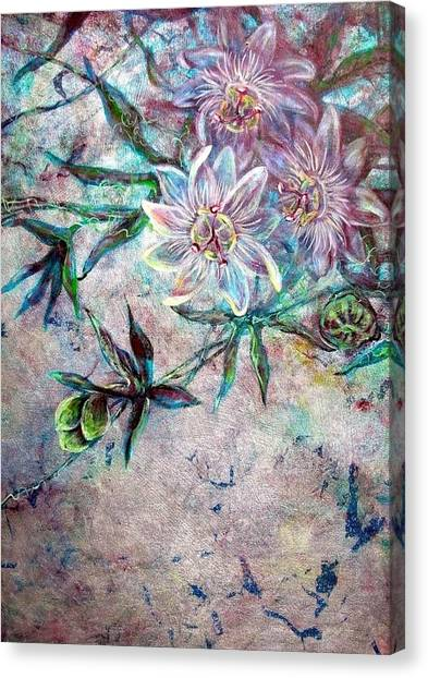 Silver Passions Canvas Print