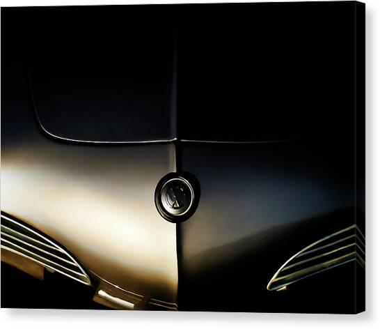 Silver Canvas Print - Silver Shadow by Douglas Pittman