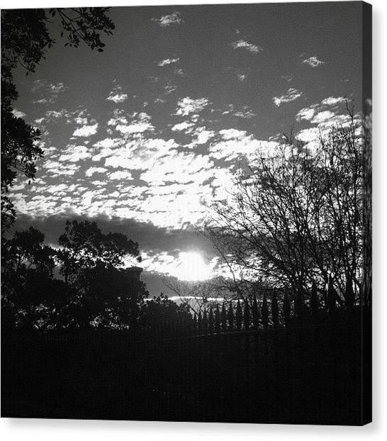 Saints Canvas Print - Silver Sun #iphoneography #igerssydney by Kendall Saint