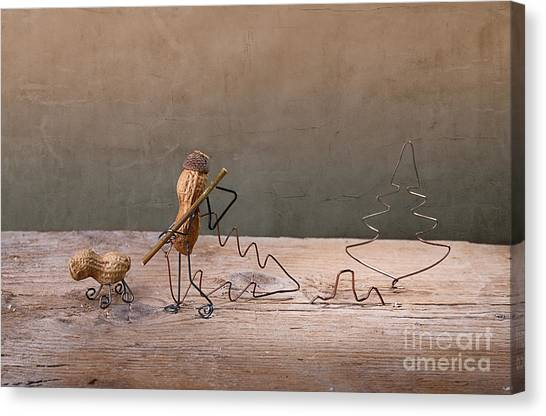 Dad Canvas Print - Simple Things - Christmas 02 by Nailia Schwarz