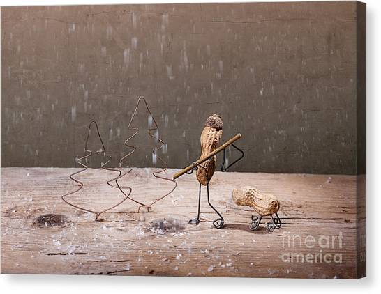 Dad Canvas Print - Simple Things - Christmas 04 by Nailia Schwarz