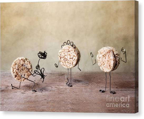 Donuts Canvas Print - Simple Things 05 by Nailia Schwarz