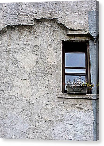 Single Window Canvas Print by Maria Scarfone