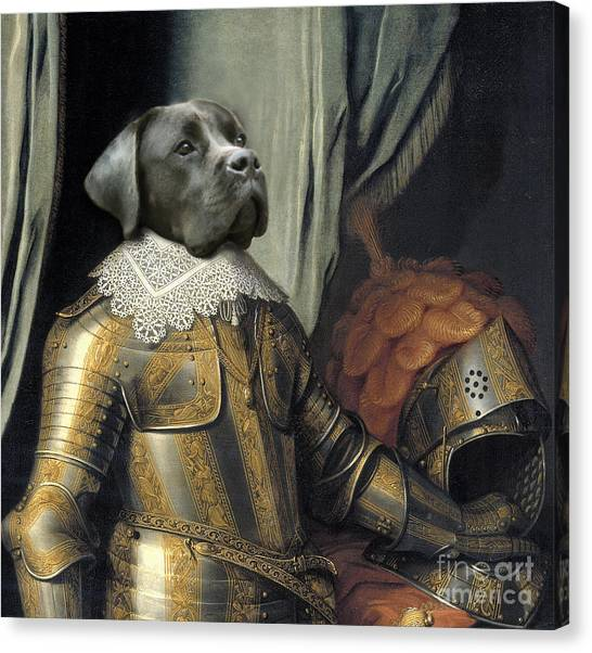 Sir Dog Canvas Print