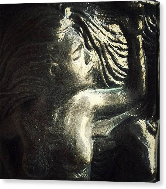 Nude Canvas Print - Siren by Natasha Marco
