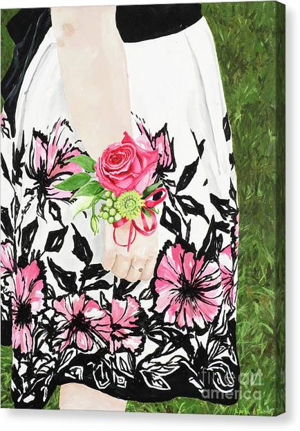 Sister Of The Groom Canvas Print by Carla Dabney