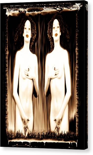 Canvas Print - Sisters Of Silence by Fine Art  Photography