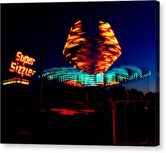 Sizzler Canvas Print by Jessica Duede