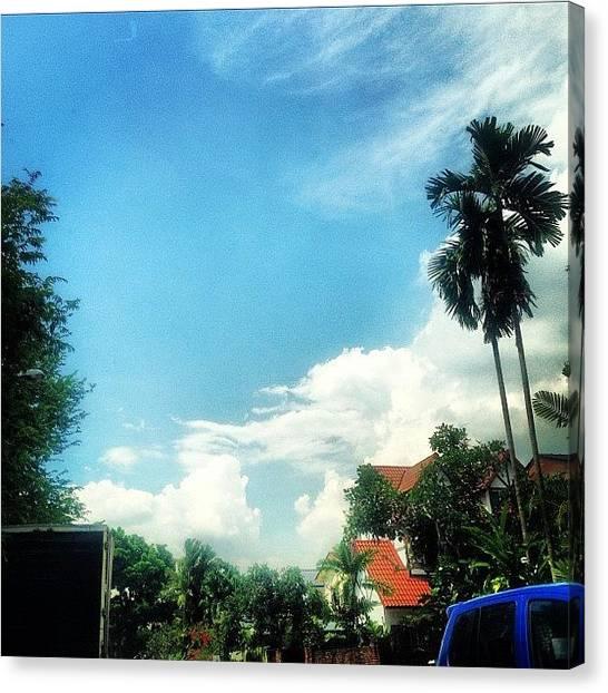 Liquor Canvas Print - #sky. 💛☀🌞🌳🌴🌸 #pretty by Elizabeth Gan