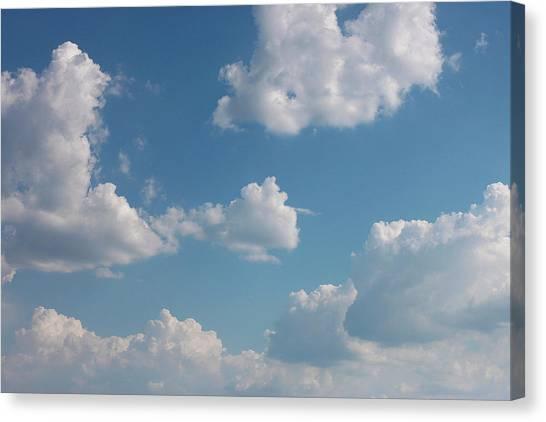 Sky Canvas Print by Alexa Alexandru-Michael