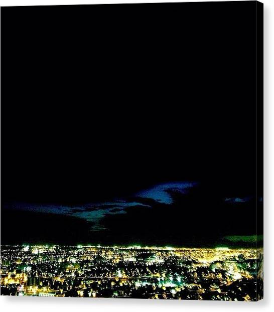 Florida Canvas Print - Sky Lines & City Lights by Joel Lopez