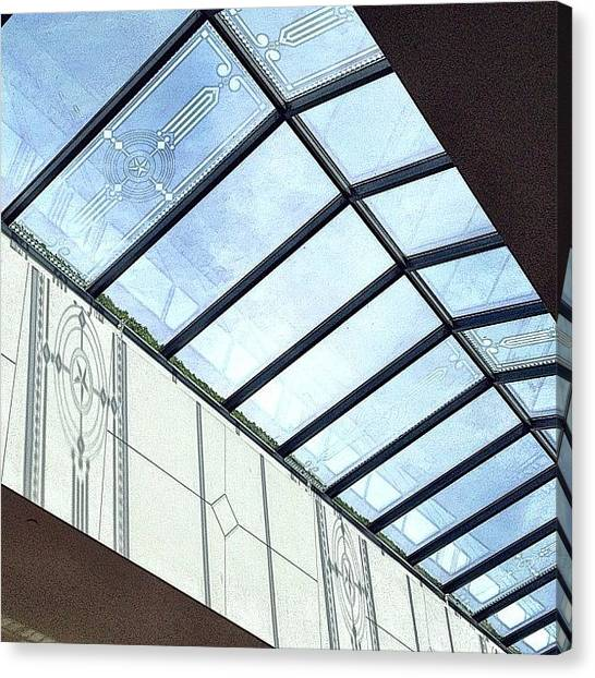 Austin Canvas Print - Skylight by Natasha Marco