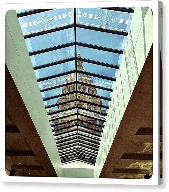 Austin Canvas Print - Skylight View by Natasha Marco