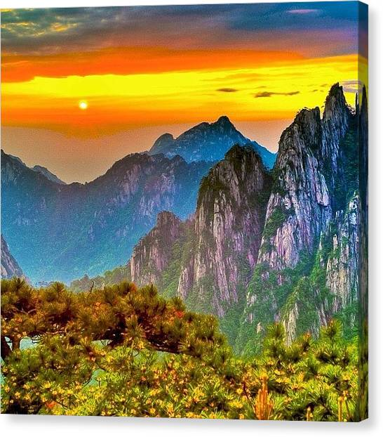 Asian Canvas Print - #sky_perfection #china #ic_sky by Tommy Tjahjono