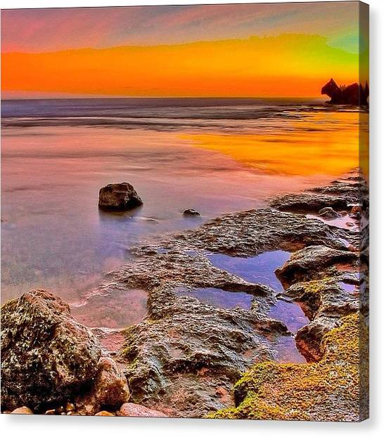 Nature_seekers Canvas Print - #sky_perfection #instanaturelover by Tommy Tjahjono