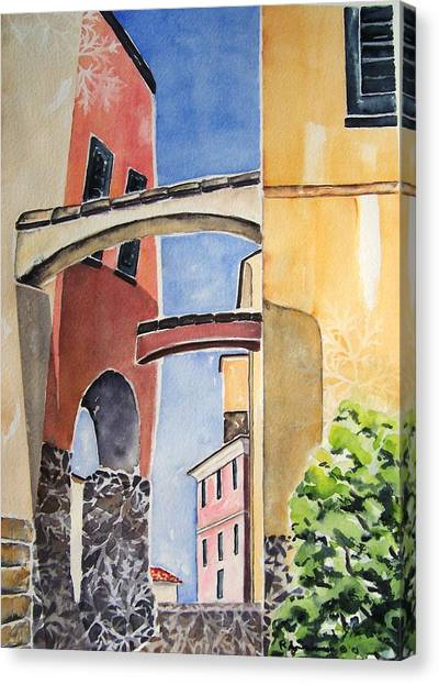 Skyward Canvas Print by Regina Ammerman