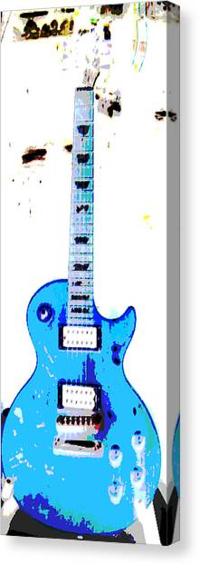 Slash's Guitar Canvas Print by David Alvarez