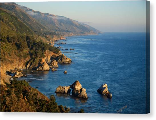 Slate Hot Springs Coast Canvas Print
