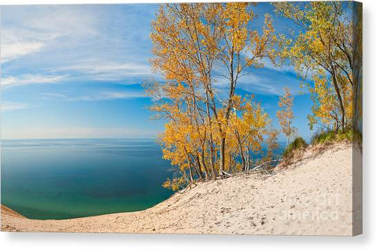 Sleeping Bear Dunes Vista 001 Canvas Print