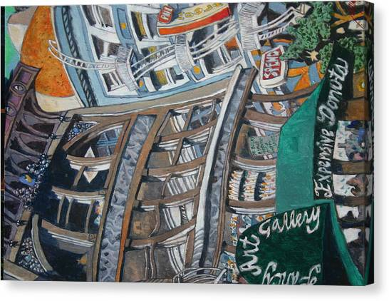 Slippery Scape Canvas Print by Joe Jaqua