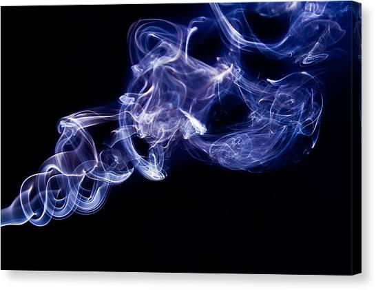 Smoke 11 Canvas Print