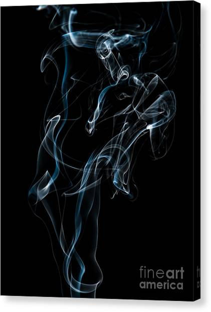 Smoke-6 Canvas Print