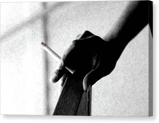 Smoke Canvas Print by Dax Ian