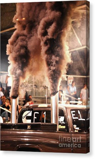 Lynda Dawson-youngclaus Canvas Print - Smoke Signals by Lynda Dawson-Youngclaus