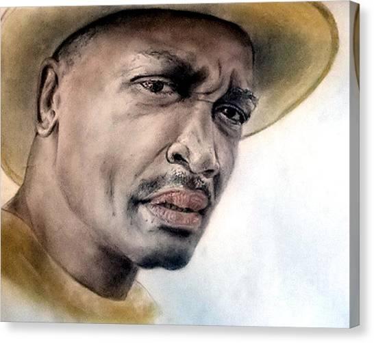 Joe Frazier Canvas Print - Smokin Joe Frazier by Jim Fitzpatrick